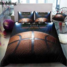 The Great Basketball Bedding Sets Basketball Bedding, Sports Bedding, Duvet Bedding Sets, Bed Duvet Covers, Duvet Cover Sets, Comforters, Basketball Wall, King Comforter, Bedspreads