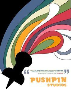Cartel de Pushpin Studios. s/f.