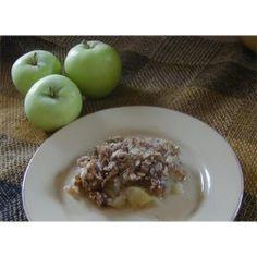 Microwave Apple Crisp - Allrecipes.com