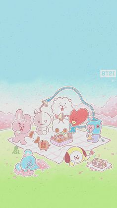 Ipad Mini Wallpaper, Teen Wallpaper, Kawaii Wallpaper, Iphone Wallpaper, Bts Bangtan Boy, Bts Jimin, Rapmon, Character Wallpaper, Bts Aesthetic Pictures