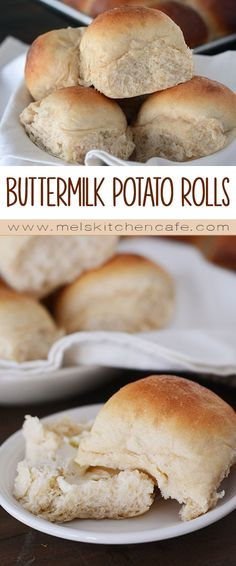These buttermilk potato rolls need to grace your table this holiday season. They are so fluffy and delicious.