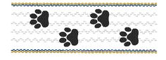 Mascot Paws - Machine Smocking by Elizabeth's Embroideries, http://www.elizabethsembroideries.com