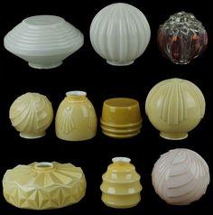 Lote - Fábrica de Vidros das Gaivotas | Bestnet Leilões Estilo Art Deco, Industrial Design, Food, Gull, Colored Glass, Antiques, Meal, Essen, Hoods