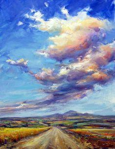 Comprar Alpuébrega bajo las nubes - Pintura de José Morán Vázquez desde 404 ARS (2015/03/21) en Artelista.com, con gastos de envío y devolución gratuitos a todo el mundo