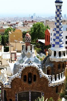 parc guell - gaudi - barcellona - UNESCO  More on www.ireneccloset.com