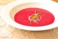 Borsjt: rode bietensoep  
