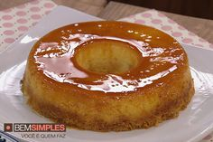 Pudim de coco com laranja, por Renata Sereguetti. http://www.bemsimples.com/br/receitas/80744-pudim-de-coco-com-laranja