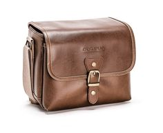 b5d7bf2a551 Olympus Tracker Classic Design Vintage Camera Bag (Brown)    See this great  product