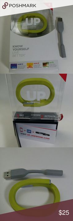 Jawbone Up Band Used item, Lime green size small jawbone up band Accessories