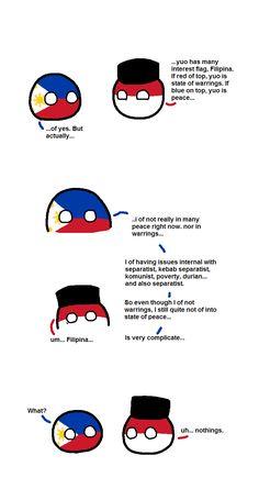 CountryBall - In between to states - Polandball Filipino Memes, Filipino Funny, War Comics, Funny Comics, Hetalia Philippines, Fantasy Comics, Ways Of Learning, Anime Love Couple, History Memes