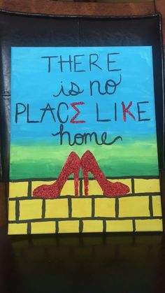 Sigma Kappa canvas for Big/Little week. The Wizard of Oz