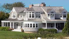 Hamptons style-  slate tiling and ornate windows