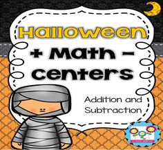 Grab this 63 pages set of fun and engaging 0 - 100 addition and subtraction activities to use in your Halloween math centers of your 1st, 2nd and 3rd grade classroom and homeschool students. {first, second and third grader, home school}