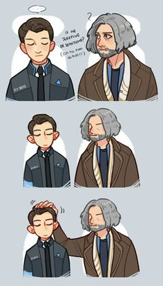 Detroit Become Human Connor and Hank Part 1