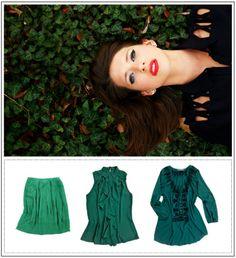 I love emerald!   Blog - Stitch Fix