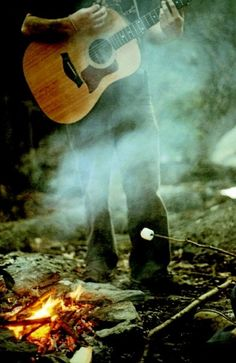 okay, we need to find a family member who can actually play a guitar by the campfire! If not, then I'm going to tackle this myself!