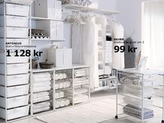 ikea Algot wardrobe storage system could be laundry or linen closet storage Ikea Algot, Laundry Room Organization, Laundry Room Design, Laundry Storage, Storage Organization, Ikea Deco, Clothes Storage Systems, Closet Bedroom, Living Room