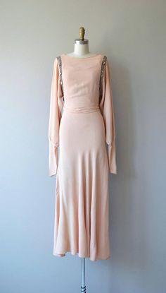Between Strophes dress 1930s