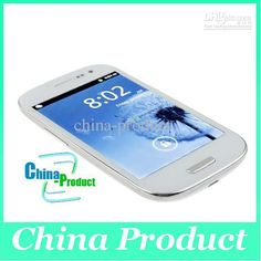 "4.8"" 1:1 i9300 MTK6820 Single SIM Android 4.0 Wifi WIFI GPS Dual Core cell phone"