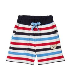 Steiff Shorts in Bunt Shorts, Farmer, Trunks, Swimming, Boys, Swimwear, Modern, Fashion, Color Blue