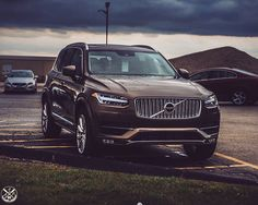Aj Salls — The new @volvocars xc90 is Twilight bronze, every...
