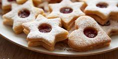 Špaldovo-mandľové linecké koláčiky - Tinkine recepty Annie's Cookies, Roll Cookies, Almond Cookies, Gluten Free Cookies, Sandwich Cookies, Linzer Cookies, Best Christmas Cookies, Holiday Cookies, Biscuits