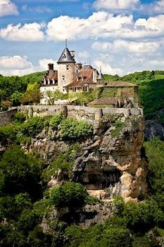 Château de Belcastel - Lot, Pyrenees, France ~might be going there on my school trip to France~