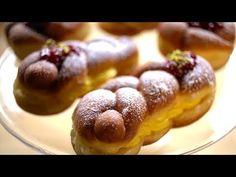 Borbás Marcsi szakácskönyve - Csavart fánk (2020.02.02.) - YouTube Doughnut, Baked Potato, Donuts, Sausage, Meat, Baking, Ethnic Recipes, Food, Youtube