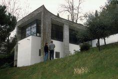 asqimo: 1975-77 Luigi Snozzi Casa Bianchetti... - |||||||||||||||||||||||||||||||||||||||||| Luigi Snozzi, Mario Botta, Gazebo, 1975, Outdoor Structures, Hem, Villas, Perspective, Image