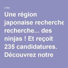 Une région japonaise recherche... des ninjas ! Et reçoit 235 candidatures. Découvrez notre histoire du soir, ici