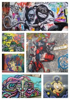 Street art tour East London