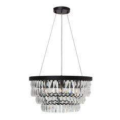 Anwen Drum 6-Light LED Crystal Chandelier