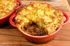 Slimming Eats Syn Free Mini Cottage Pies - gluten free, dairy free, paleo, Slimming World and Weight Watchers friendly Low Calorie Recipes, Diet Recipes, Cooking Recipes, Healthy Recipes, Recipies, Mince Recipes, Healthy Options, Diabetic Recipes, Healthy Foods