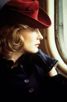 Cate Blanchett in vintage costume.