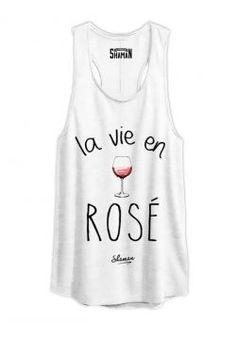 """Tunique """"La vie en rosé"""""""
