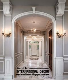 Decorative Wall Molding crown molding stylescreative design | kendin yap | pinterest