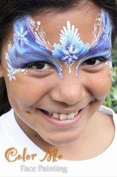 frozen face paint - Google Search