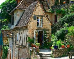 Ancient House, Rocamadour, France