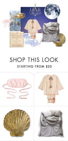 """Sweet dreaming"" by daisyhead3 on Polyvore featuring kumi kookoon, Currey & Company, Matteo, Night, sleep and bed"