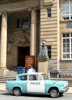 Bradford Police Outside Bradford Law School
