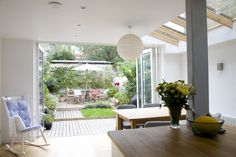 KITCHEN: Side return extension - lots of lovely natural light.