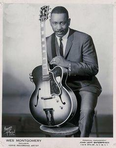 Legendary Jazz guitarist Wes Montogmery!