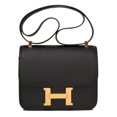 Portero offers the best pre-owned luxury brands, from Hermes and Chanel, to Rolex and Cartier at up to off retail. Leather Purses, Leather Handbags, Leather Bags, Real Leather, Hermes Constance Bag, Designer Shoulder Bags, Vintage Bags, Luxury Bags, Fashion Bags