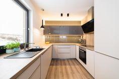 Obývák s kuchyní a ložnice