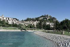SI12 - Le plan d'eau à Sisteron - Alpes de Haute Provence 04
