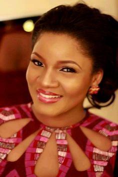 Nollywood actress Omotola, looks great!