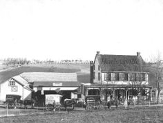Photo of A. K. Moyer's Bakery, Harleysville, PA, ca. 1900 (the house is still standing, on Main St. just east of the intersection with Rt. 113).  Gift of Esther A. Hepler.