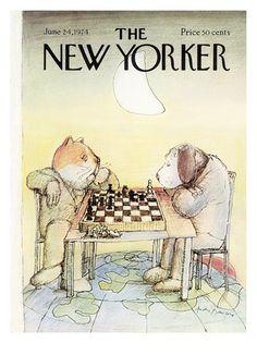 Copertina - The New Yorker - 24 giugno 1974 [André Farkas (André François)]