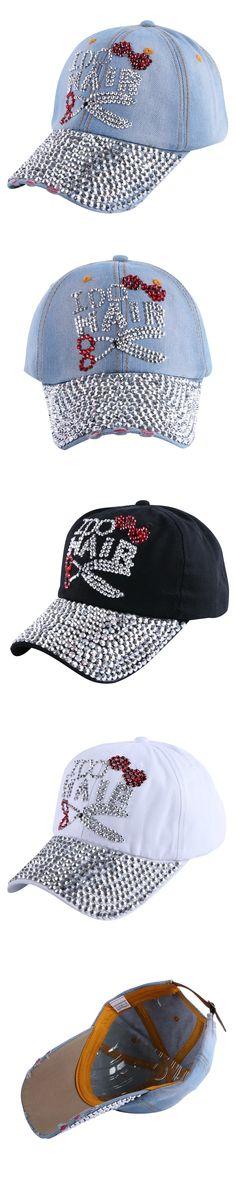 new fashion women girl beauty baseball cap white black denim character custom design hip hop snapback hat woman brand hats