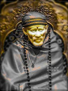Sai Baba Pictures, God Pictures, Ganesh Bhagwan, Shirdi Sai Baba Wallpapers, Sai Baba Hd Wallpaper, Hindu Deities, Hinduism, Samantha Images, Sai Baba Quotes